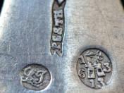 Pesti antik ezüst kiskanál