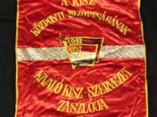 Kiváló KISZ szervezet zászlója 1981