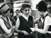 Fizetésemelés a textilgyárban Budapesten (1973)