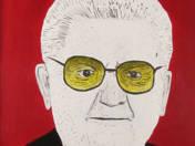Boross Péter Andy Warhol műtermében (2011)