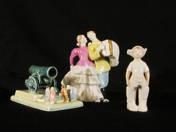 Szovjet porcelánszobrok