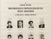 A Hazafias Népfront Országgyűlési képviselő jelöltjei Heves megye