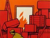 A rendetlen raktár tűz- és balesetveszélyes