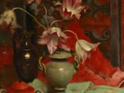 Csendélet tulipnokkal