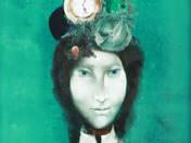 Női portré órákkal
