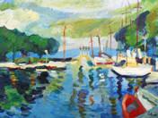 Balatoni kikötő