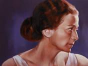 Fischer Annie portréja