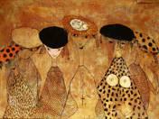Hölgyek kalapban