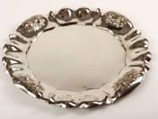 Bécsi antik ezüst tálca