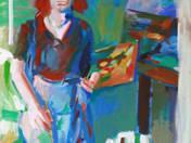 Szilvásy Nándor: Festőnők