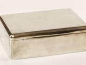 Pesti ezüst szivardoboz
