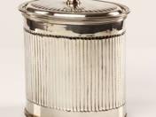 Sterling ezüst teadoboz
