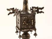 Bécsi ezüst Psumintartó