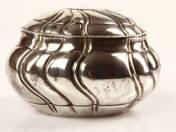 Német ezüst ékszer dobozka