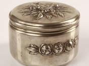 Pesti ezüst ékszer doboz