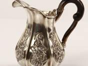 Bécsi antik ezüst tejszínkiöntő
