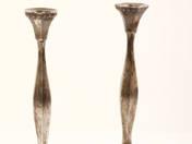 Sterling ezüst gyertyatartó pár