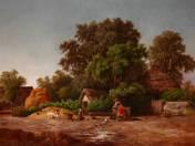 Falusi jelenet (1872)