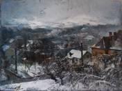 Herman Ottó és Nagyajtai utca sarok, háttérben a János-hegy