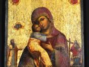 Istenanya a Gyermekkel orosz ikon