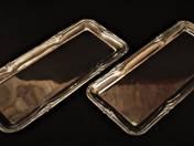 Bachruch ezüst tálca párban