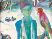 Fiú Papagájjal