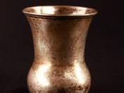 Bécsi antik ezüst borospohár
