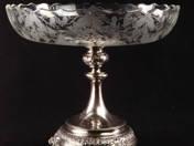 Pesti ezüst asztalközép