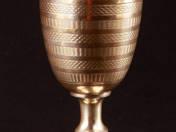 Bécsi ezüst borospohár