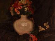 Virágcsendélet - Női portré