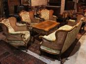 Sitting-set in Neo-baroque style