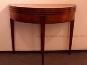 Biedermeier szalonasztal - konzolasztal