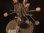 Tanulmány tulipánokkal (2013)