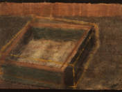 Pool with ochre drawing (2012)