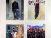 Önarckép három férfival – Art & Style sorozat, 2007-2009