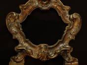 Antik ezüst asztali tükörkeret