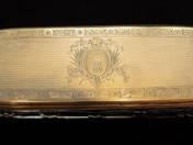 Bécsi ezüst pipere doboz