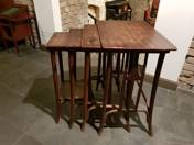 Thonet foldable service table