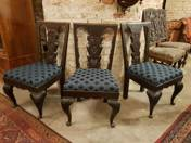 Chairs in Kozma style (3 pieces)