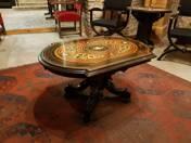Bécsi Boulle asztalka