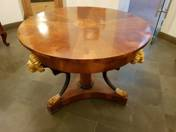 Table in empire style