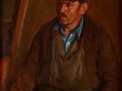 Munkás portré