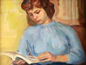 Olvasó lány