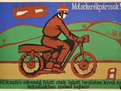 Motorkerékpárosok! plakát