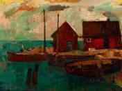 Halászházak