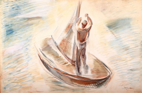 PINTÉR AUKCIÓ A VASZARY VILLÁBAN - 2017 Balaton,nyár,szerelem... 100. Jubileumi Aukció!!! — Festmények és szobrok (2)