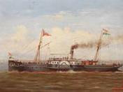Baross hajó Fürednél