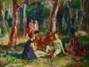 Piknikező hölgyek