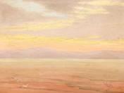 Naplemente a Balatonon, 1910