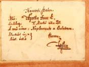 Ágotha Imre Ede: Naplemente a Balatonon, 1910